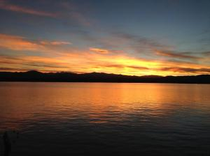 Sunset on Lake Loveland